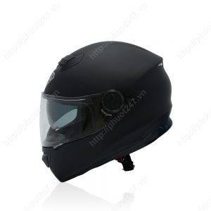 Mũ bảo hiểm fullface Yohe 965 – Đen nhám