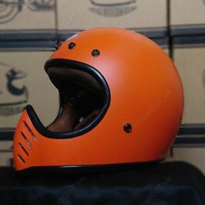Mũ bảo hiểm RAW – Cam nhám