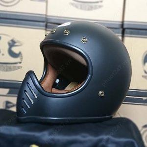 Mũ bảo hiểm RAW – Đen nhám