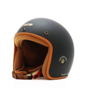 Mũ bảo hiểm Bulldog Heli Solid Matt Black