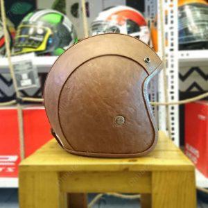 Mũ bảo hiểm Bulldog Leather 2017