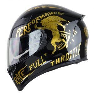 Mũ bảo hiểm M138 Rebel – Gold Edition