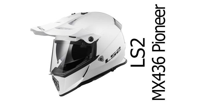 Đánh giá mũ bảo hiểm Adventure LS2 Pioneer