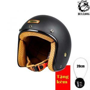 Mũ 3/4 Bulldog Perro 4U (Ver4)